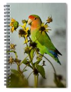 Can You Say Pretty Bird? Spiral Notebook