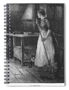 Canada: Daily Life, 1883 Spiral Notebook