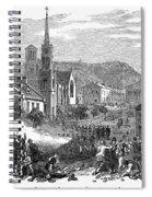 Canada: Gavazzi Riot, 1853 Spiral Notebook