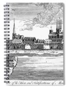 Canada: Montreal, 1760 Spiral Notebook
