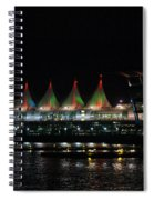 Canada Place Convention Center Spiral Notebook