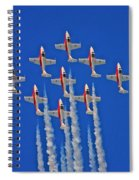 Canadian Air Force - Snowbirds Spiral Notebook