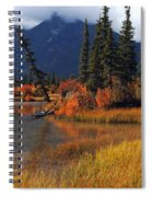 Canadian Landscape Spiral Notebook