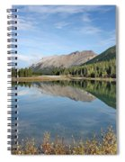 Canadian Rockies Rocky Mountain Lake Spiral Notebook