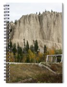 Canadian Rocky Mountains Hoodoos Spiral Notebook