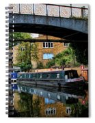 Canal Boats Spiral Notebook