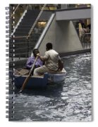 Canal Running Through The Length Of The Shoppes Running Under Th Spiral Notebook