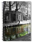 Canal Saint Martin Spiral Notebook