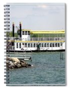 Canandaigua Lady Paddleboat Spiral Notebook