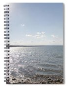 Canandaigua Lake Panorama Spiral Notebook