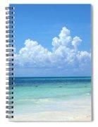 Cancun Beach Spiral Notebook