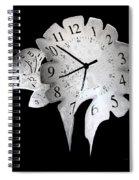 Candle Clock Spiral Notebook