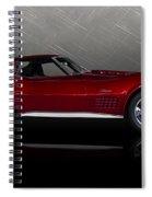 Candy Apple Corvette Spiral Notebook