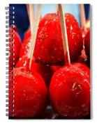 Candy Apples Spiral Notebook