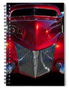 Candy Red Spiral Notebook