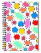 Candy Spots Spiral Notebook