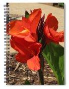 Cannas Spiral Notebook