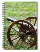Cannon Fire Spiral Notebook