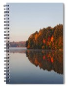 Canoe Lake  Algonquin Spiral Notebook