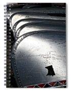 Canoe Row Spiral Notebook