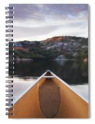 Canoeing In Ontario Provincial Park Spiral Notebook
