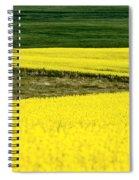 Canola Crop Spiral Notebook