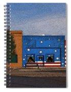 Canon City Facades - Posterized Spiral Notebook