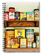 Cans Of Old Spiral Notebook