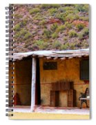 Southwest Canyon Hacienda Spiral Notebook