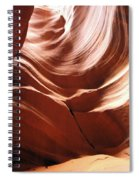 Canyon Waves Spiral Notebook