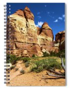 Canyonlands Chesler Park Spiral Notebook