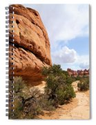 Canyonlands Needles Trail Spiral Notebook