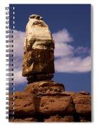 Canyonlands Santa Claus Spiral Notebook