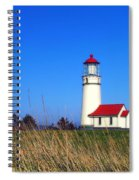 Cape Blanco Lighthouse Spiral Notebook