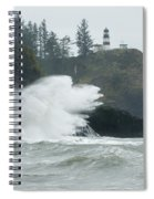Cape Disappointment Lighthouse Spiral Notebook