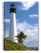 Cape Florida Lighthouse Spiral Notebook
