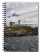 Cape Neddick Light Station Spiral Notebook