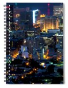 Cape Town's Tilt Shift  Spiral Notebook