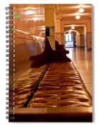 Capital Halls Spiral Notebook