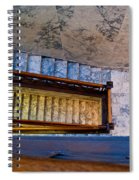 Capital Stairs Spiral Notebook