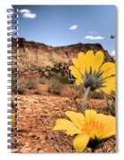 Capitol Flowers Spiral Notebook