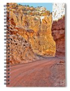 Capitol Gorge Trail At Capitol Reef Spiral Notebook