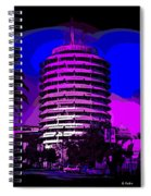 Capitol Records Building Spiral Notebook
