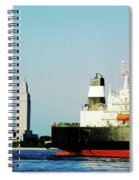 Capitol View Mississippi River Spiral Notebook