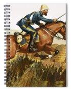 Captain Beresford In The Zulu Wars Spiral Notebook