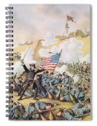 Capture Of Fort Fisher 15th January 1865 Spiral Notebook
