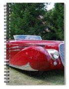 Car At Meadowbrook Spiral Notebook