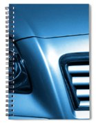 Car Face Spiral Notebook