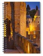 Carcassonne Ramparts Spiral Notebook
