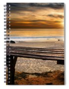Carcavelos Beach Spiral Notebook